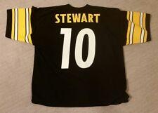 KORDELL STEWART * Vintage * Logo 7 Steelers Home Black Jersey - Size Men's XL 52