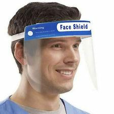 FACE SHIELD x3 HEAD MOUNT FULL FACE VISOR PROTECTION MASK PPE TRANSPARENT UK 3PC