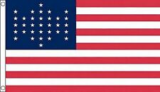 The Union Civil War 1861 33 Star 5'x3' Flag