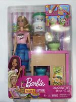 E10 Barbie You Can Be Anything Noodle Maker Toy Playset Doll & Accessories