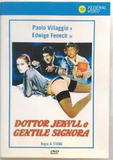 Dvd Dottor Jekyll e gentile signora con Edwige Fenech 1979 Usato