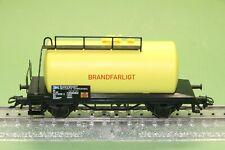 M&B Marklin HO 4441 Le # Tankcar  SJ  Brandfarligt from set 29468