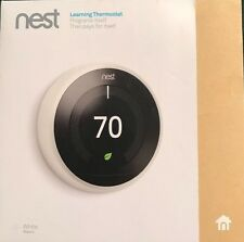 *BRAND NEW SEALED* Nest 3rd Generation Learning Thermostat - White T3017ES