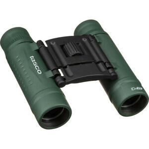 Tasco 10x25 Essentials Compact Binoculars (Green)