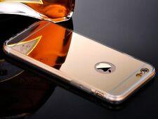 FUNDA PARA IPHONE SE 6S 6 4.7 / 5S GEL TPU ESPEJO DORADA GOLD PLATA GRIS CARCASA
