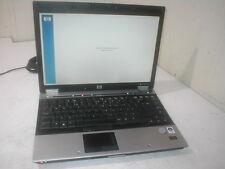 HP Elitebook 6930p Core 2 Duo 2.53Ghz Laptop spares/repair Powers, incomplete U1