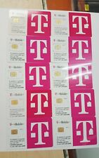 (Lot Of 10) Expired 05/19/2017 Brand New T-Mobile Sim Cards, Can'T Be Activated!