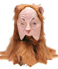 WIZARD OF OZ COWARDLY LION DELUXE LATEX MASK NEW TB1104