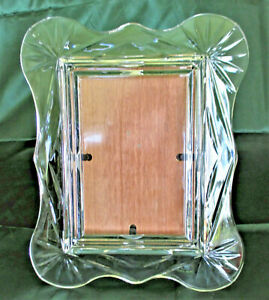 Crystal Picture Frame 4 5/8 X 6 5/8 Picture