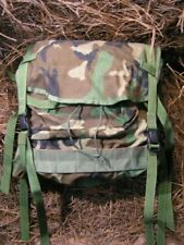Usgi Woodland Main Pack Free Canteen Cover and Helmet Cover !