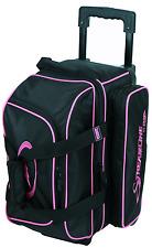 Storm Streamline Black/Pink 2 Ball Roller Bowling Bag