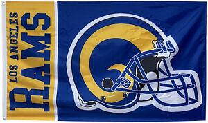 LA Rams Helmet Flag Los angeles Rams 3x5ft banner