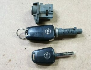 Zündschloss, Türschloss, 2 Schlüssel, Schloßsatz Opel Zafira B, Astra H