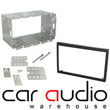 Audi A4 B6 2002-2008 Double DIN Facia Fascia Plate & Cage Fitting Kit DFP-05-07