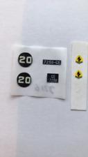 Dinky 216 Ferrari Dino paper sticker set only.