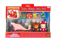 Sylvanian Families Calico Critters Baby Sleigh Ride Christmas Set