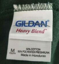 Gildan Heavy Blend Youth Medium Green Sweat Pants NWOT NEW