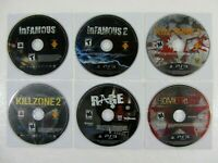 Sony PlayStation 3 Lot of 6 Video Game Bundle PS3 B14