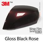 152x400cm FILM Brillant Noir Rose 3M 1080 GP99 Vinyle COVERING Series Wrap