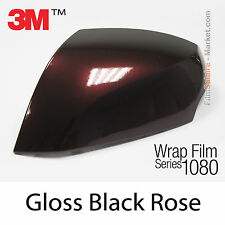 20x30cm LÁMINA Brillante Negro Rosa 3M 1080 GP99 Vinilo CUBIERTA Series