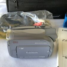 CANON ZR500 Mini DV DIGITAL Video Camera Camcorder Image Stabilizing Night Mode