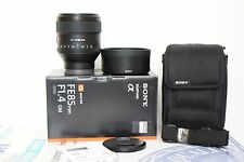 Sony 85mm F/1.4 FE GM Lens (Sony e-mount fit)