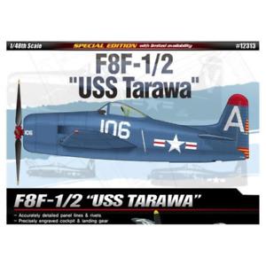 """ACADEMY 1/48 F8F-1/2 """"USS Tarawa"""" LE"""