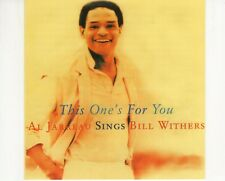 CD	AL JARREAU	sings BILL WITHERS this one's for you	EX+  2002 ISRAEL (R2805)