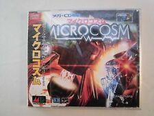 Mega CD --MICROCOSM -- Sega Genesis. JAPAN GAME. New & Sealed!! 13956
