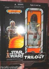 RARE STAR WARS 12 INCH ORIGINAL TRILOGY COLLECTION BOBA FETT WITH CLOTH CLOTHES