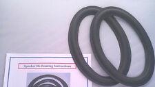 6X9 INCH FOAM EDGE SPEAKER REPAIR KIT LEXUS SC-430 SC430 6759 MARK LEVINSON DOOR