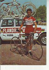 CYCLISME carte VERSCHEURE PAUL (equipe flandria velda )  1976