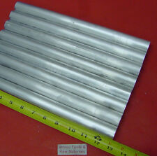 "8 Pieces 1"" ALUMINUM 6061 ROUND ROD 13"" LONG Solid T6511 1.000"" Lathe Bar Stock"