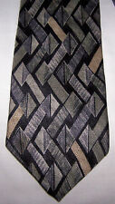 CLASSICS BY AXIS MENS 100% SILK NECK TIE-GEOMETRIC