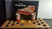 Mini Portable Folding Beer Pong Mini Folding Game board 20 cups Brand New