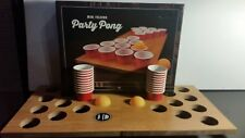 Brand New Mini Portable Folding Beer Pong Mini Folding Game board 20 cups