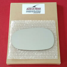 NEW Mirror Glass + ADHESIVE 98-02 CHEVY GEO PRIZM Driver Side LH ***FAST SHIP***