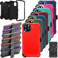 For iPhone 11 /11 Pro Max Case Cover w/Screen & Belt Clip Fits Otterbox Defender