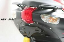 Aprilia SR 50 SR50 2005-2008 black R&G Racing tail tidy licence plate holder
