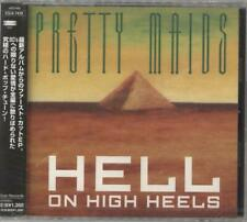 "Pretty Maids Hell On High Heels Japanese CD single (CD5 / 5"") promo ESCA7439"
