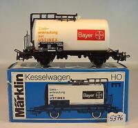 Märklin H0 4647 Kesselwagen Bayer Ustinex Entkrautung 2-achsig der DB OVP #5376