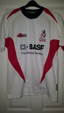 3b7a261913ad Mens Rugby Shirt - St George England - Samurai Rugby Gear - White  7 -