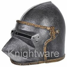 Knight Helmet Toy for Kids. Medieval Knight costume accessory. Halloween Mask