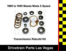 1989-95 Mazda Miata MX5 5 Speed Manual Transmission Rebuild Kit w/ Synchro Rings