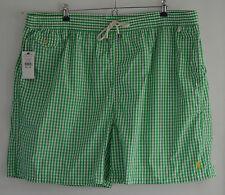 Ralph Lauren Polo grün weiß kariert Badehose Badeshorts 4XL 4X 4XB XXXXL Big