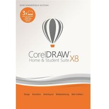 Corel DRAW Graphics Suite X8 Home and Student *3-PC* DEUTSCH / KEY