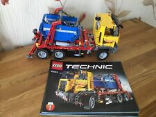 LEGO Technic Container Truck (8052) 42024 Skip Lorry
