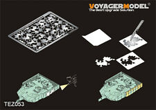 Voyager TEZ053 1/35 PLA AFV Digital Camouflage Masking Stencil for general use