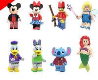 Cartoon Film Series Mickey Cute Duck Daisy Little Magic Stitch Building Blocks