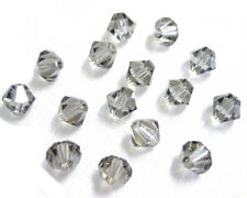 25 Swarovski Crystal Beads # 5328 Black Diamond  6MM